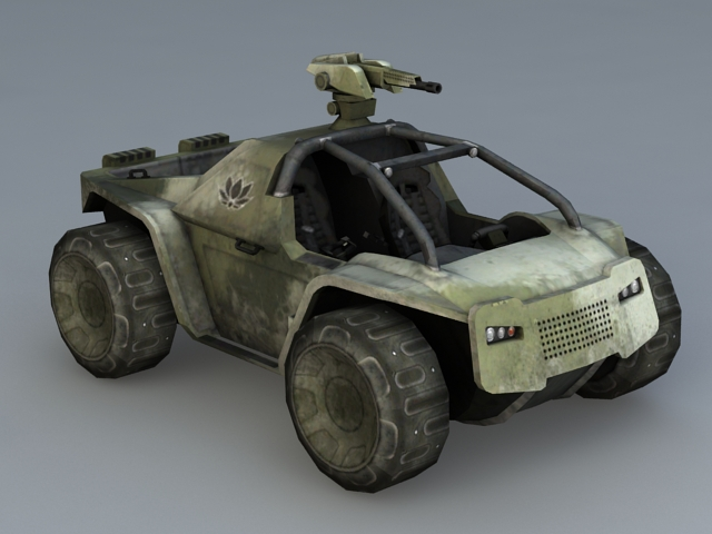Battlefield 2142 Vehicle 3d Model 3ds Max Files Free