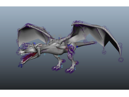 Dragon Art 3d model