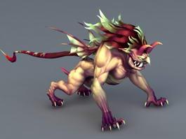 Kamaitachi Mythology Creature 3d model