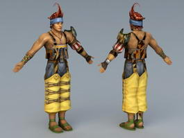 Final Fantasy X Wakka 3d model