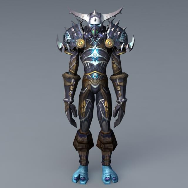 Troll Warrior Rig 3d model