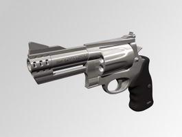 Revolver Gun 3d model