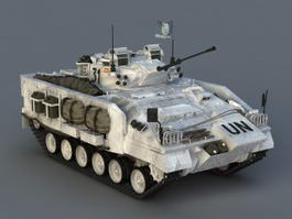 Armored Infantry Fighting Vehicle 3d model