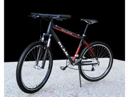Black Mountain Bicycle 3d model