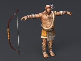 Ancient Hunter 3d model
