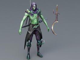 Evil Assassin 3d model