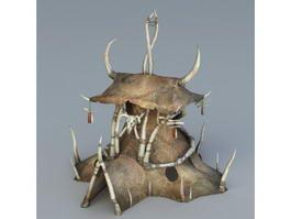 ORC Tent 3d model