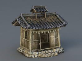 Small Altar House 3d model