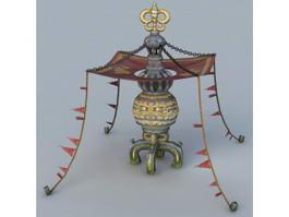 Mystical Pagoda 3d model
