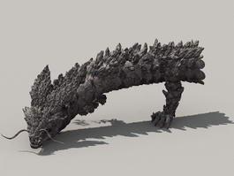 Rock Dragon 3d model
