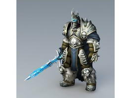 World of Warcraft Lich King 3d model