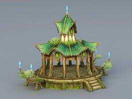 Elf Style Pavilion 3d model