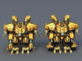 robots 3d model free download page 5 - cadnav com