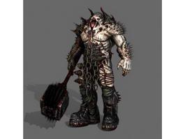 Scary Monster Demon 3d model