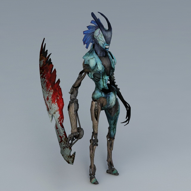 Devil May Cry Stygian 3d model