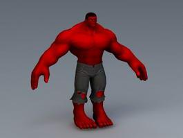 Superhero 3d Model Free Download Cadnav Com