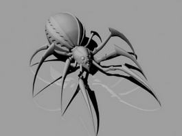Giant Scary Spider 3d model