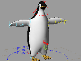 Adelie Penguin 3d model