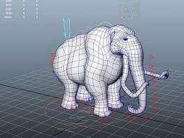 Mammoth Rig 3d model