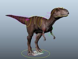 Albertosaurus Dinosaur Rig 3d model