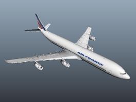 Air France A340 3d model