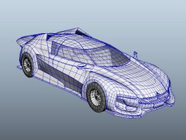 Citroen GT 3d model