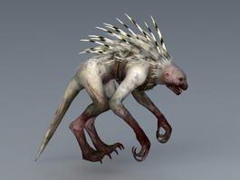 Rage Beast 3d model