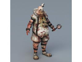 Killing Floor Zombie Bloat 3d model