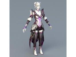 Vampire Angel 3d model