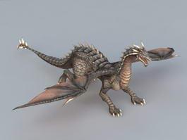 Wyvern Creature 3d model
