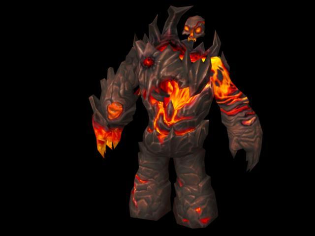 Magma Giant Monster 3d model