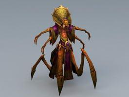 Nerubian Priest 3d model