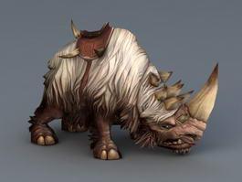 Wooly Rhino 3d model