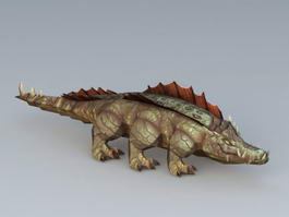 Cataclysm Crocodile 3d model