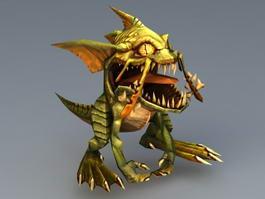 Gorloc Monster 3d model