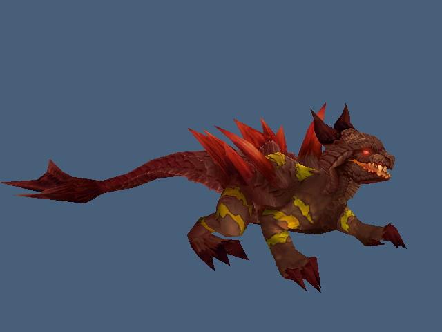 Red Warp Stalker 3d model