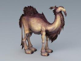 Wooly Camel 3d model