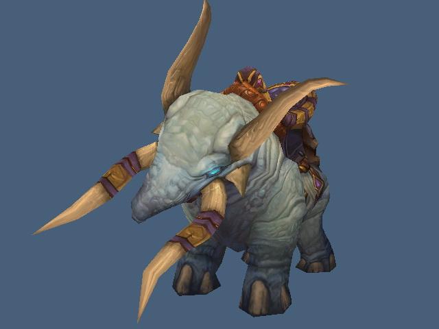 Draenei Elephant Mount 3d model