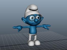 Smurfs Character 3d model