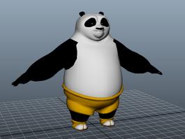 Kung Fu Panda 3d preview