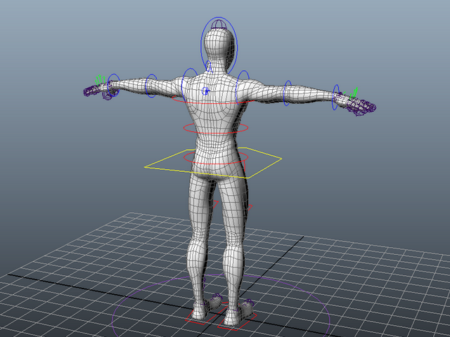 Spider Man Rig 3d model Maya files free download - modeling 40695 on