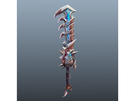 Chainsaw Sword 3d model