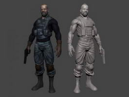 Special Ops Soldier 3d model