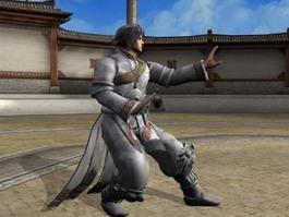 Male Martial Artist 3d model