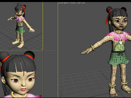 Cartoon Nezha 3d model