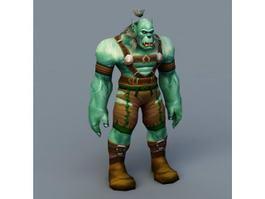 Warcraft Orc 3d model