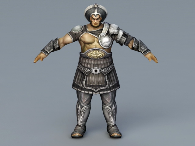 Armor Warrior Rig 3d model - CadNav