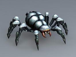 Animated Spider Monster 3d model
