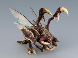 StarCraft Zergling 3d model