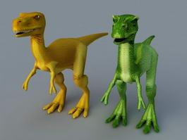 Cute Baby T-Rex 3d model